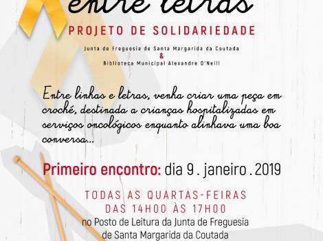 SORRISOS ENTRE LETRAS PROJETO DE SOLIDARIEDADE