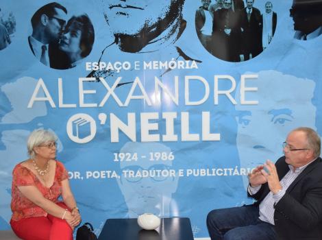 Constância assinou protocolo com Universidade Católica Portuguesa para promoção e estudo da vida e obra de Alexandre O' Neill