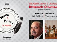 Poesia e Música à Mesa com Raúl Caldeira e os Tintinnabvlvm